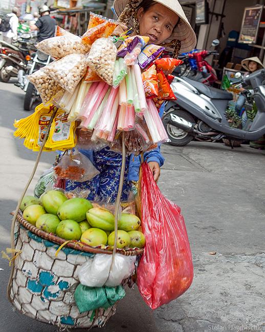 Vietnamese trader in Saigon